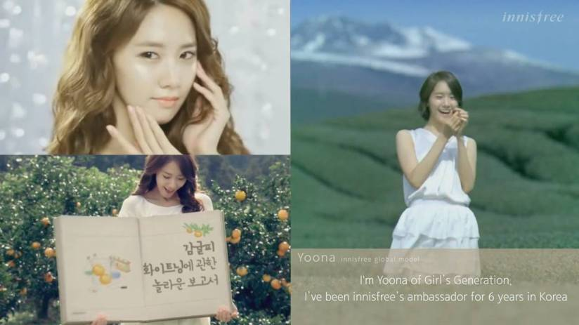 [140704] Yoona (SNSD) New Capture Video from Innisfree CF [5]