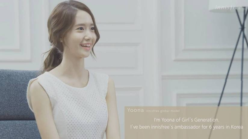 [140704] Yoona (SNSD) New Capture Video from Innisfree CF [7]