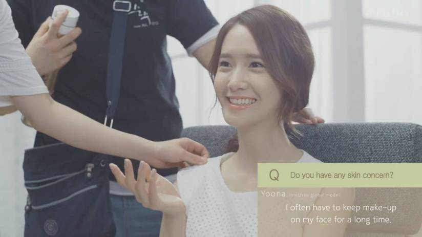 [140704] Yoona (SNSD) New Capture Video from Innisfree CF [9]