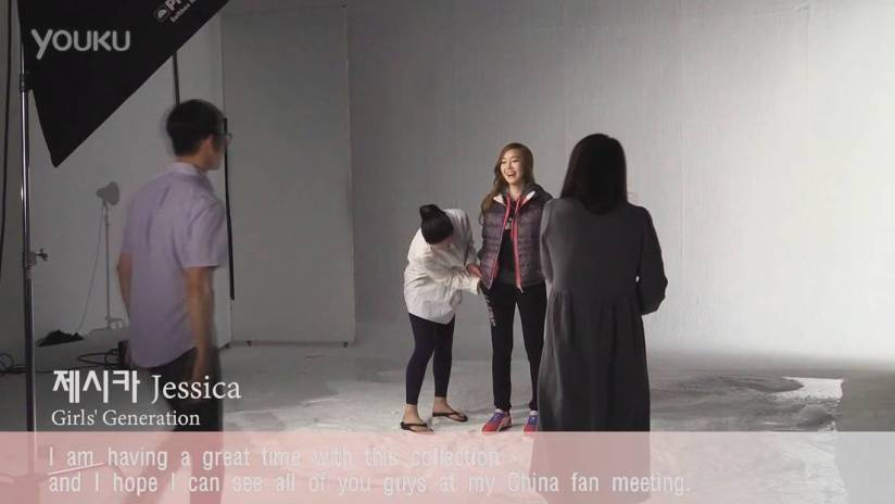[140708] Jessica (SNSD) New Capture Video for Li–Ning CF [3]