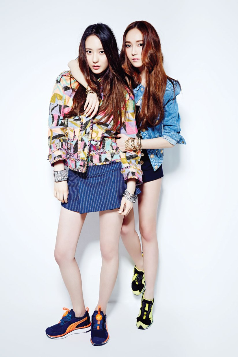 [140709] Jessica (SNSD) & Krystal (F(x)) For NYLON Magazine [1]