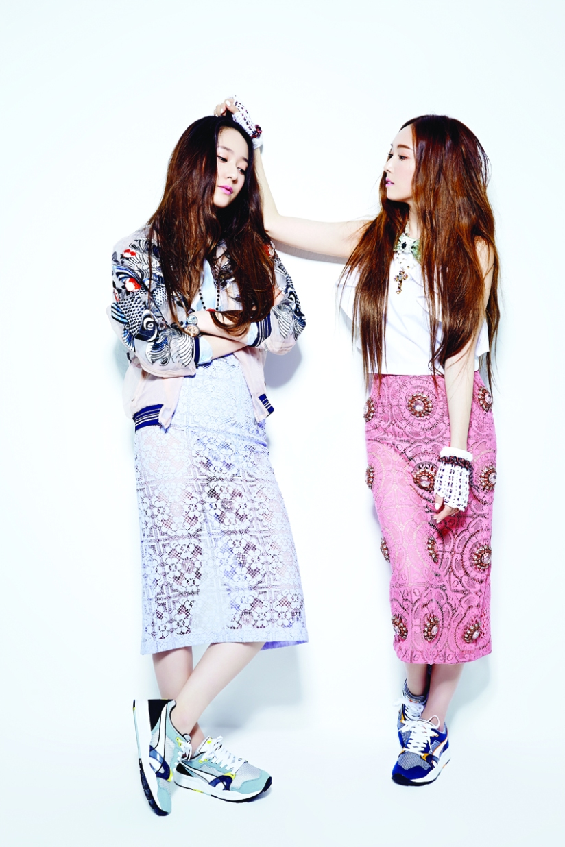 [140709] Jessica (SNSD) & Krystal (F(x)) For NYLON Magazine [2]