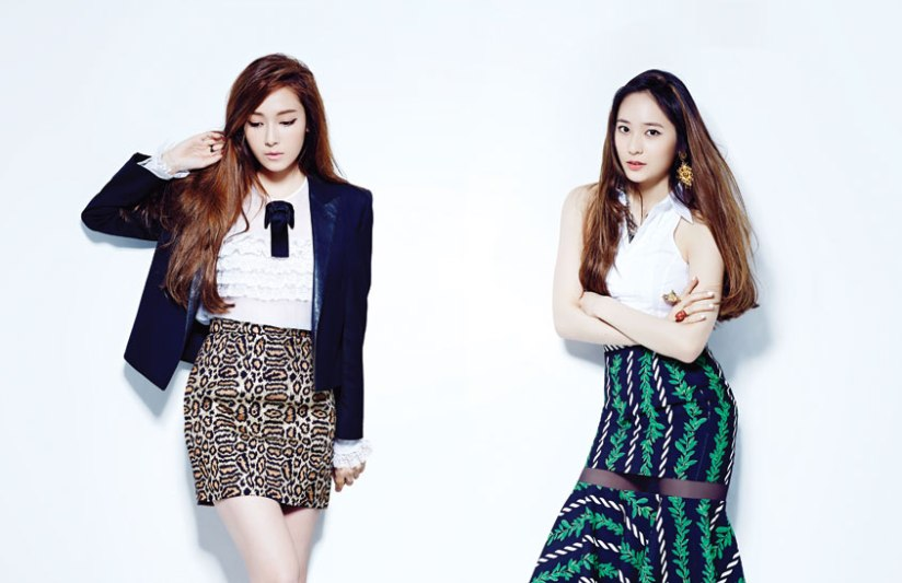 [140709] Jessica (SNSD) & Krystal (F(x)) For NYLON Magazine [3]