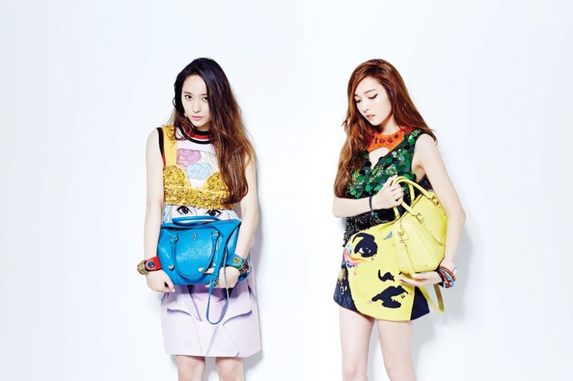 [140709] Jessica (SNSD) & Krystal (F(x)) For NYLON Magazine [4]
