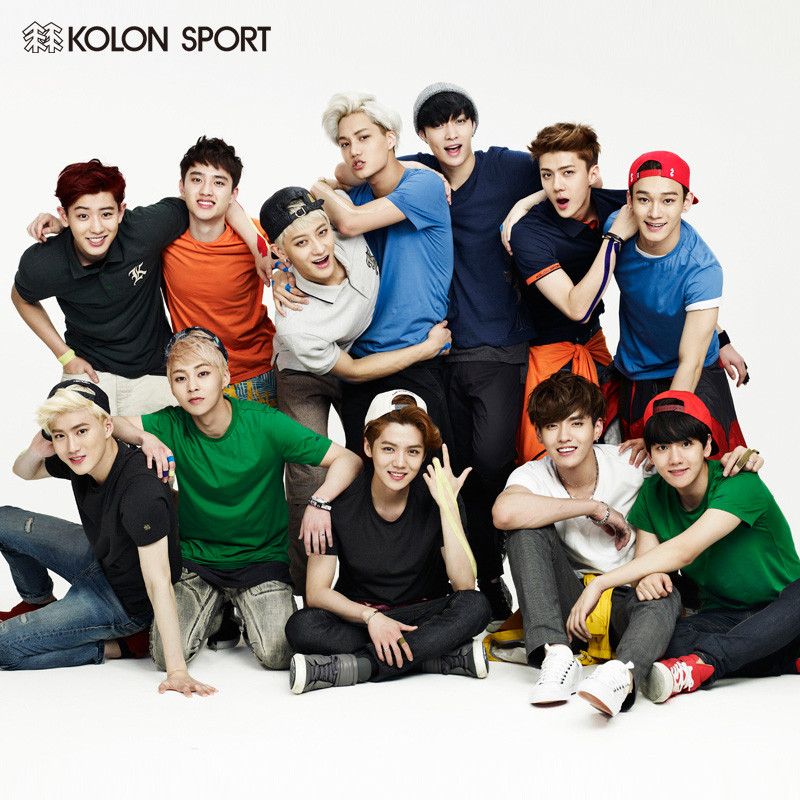 [140710] EXO New Picture for Kolon Sport CF [1]