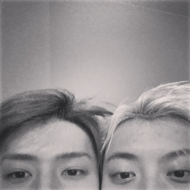 [140710] Sehun (EXO) New Selca with Tao