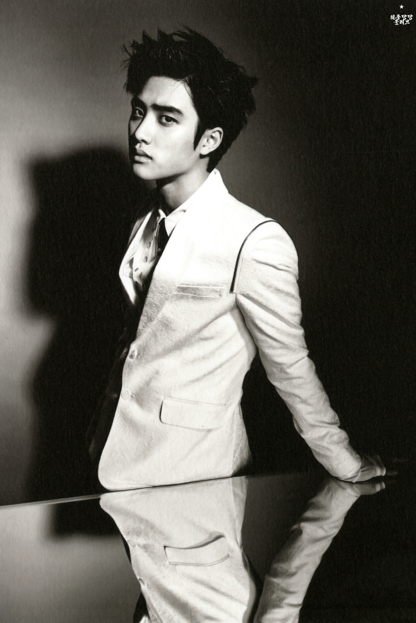[140712] D.O (EXO) New Overdose Postcard (Scan) by OliV_xoxo [1]