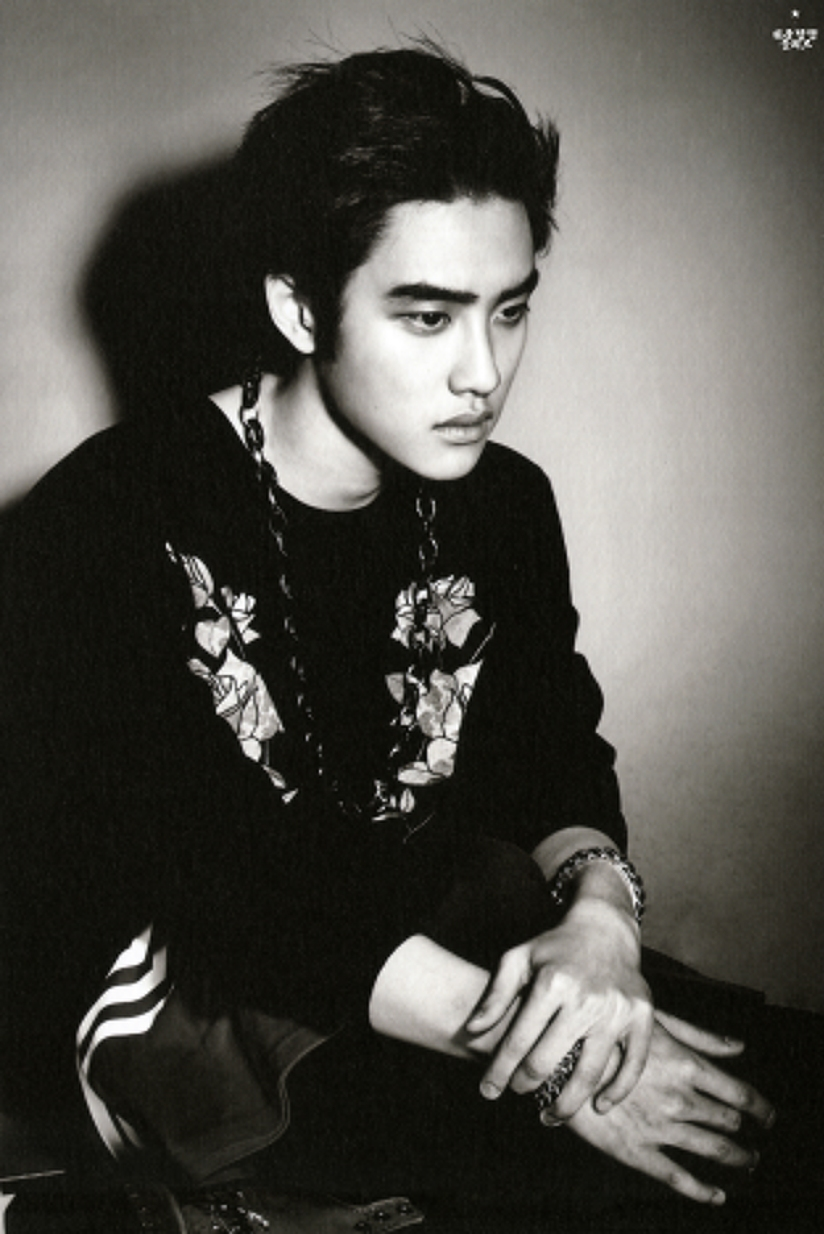 [140712] D.O (EXO) New Overdose Postcard (Scan) by OliV_xoxo [2]
