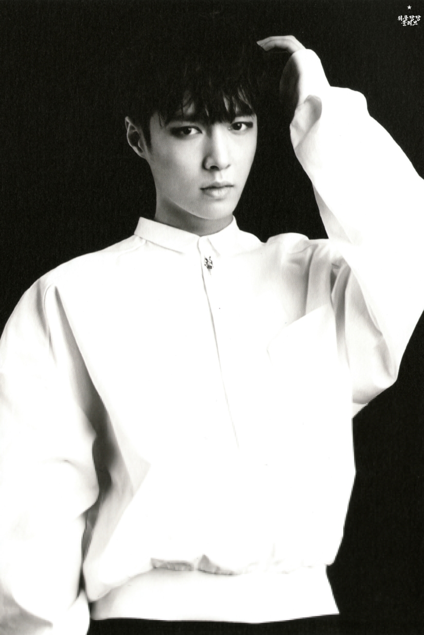 [140712] Lay (EXO) New Overdose Postcard (Scan) by OliV_xoxo [3]