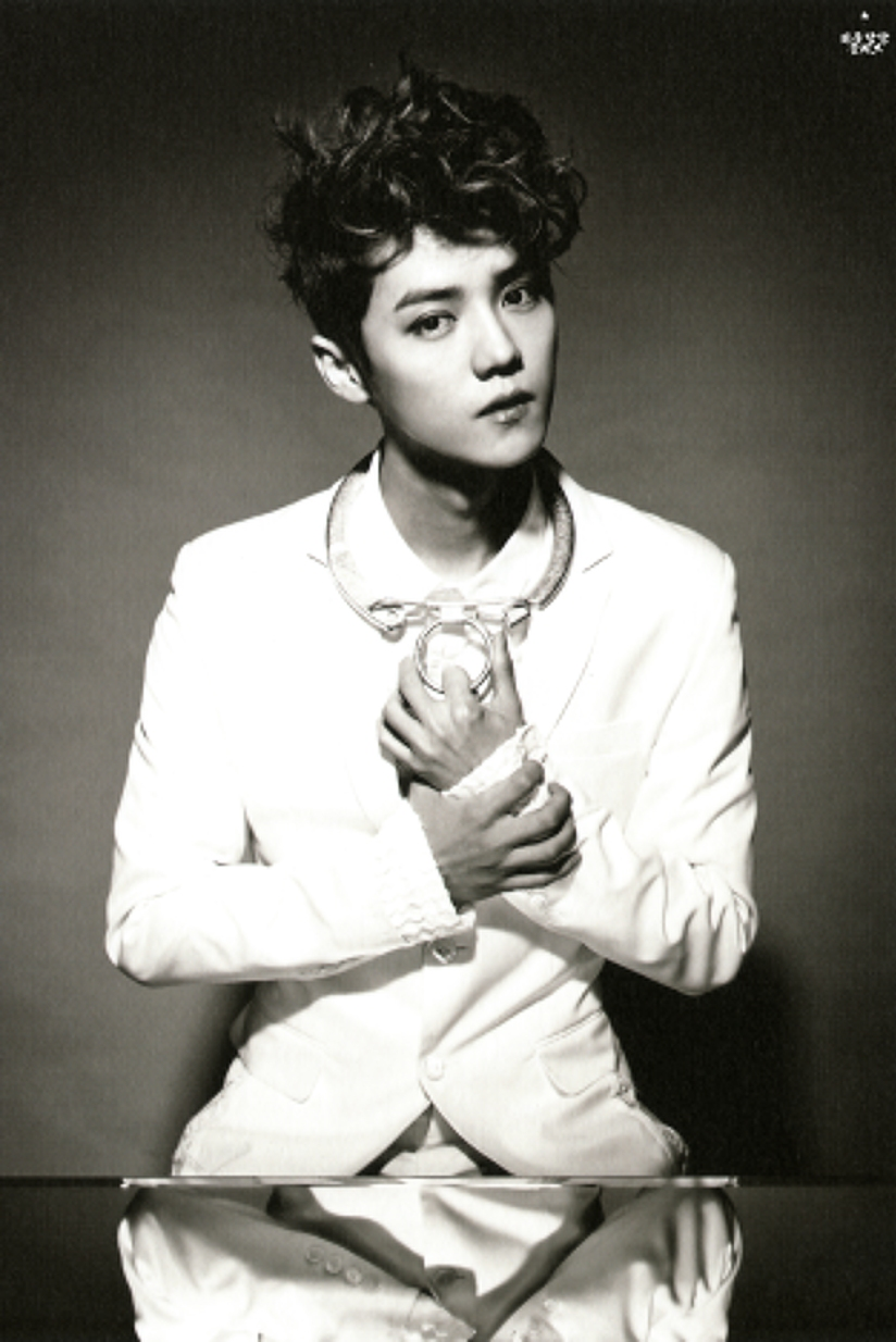[140712] Luhan (EXO) New Overdose Postcard (Scan) by OliV_xoxo [1]