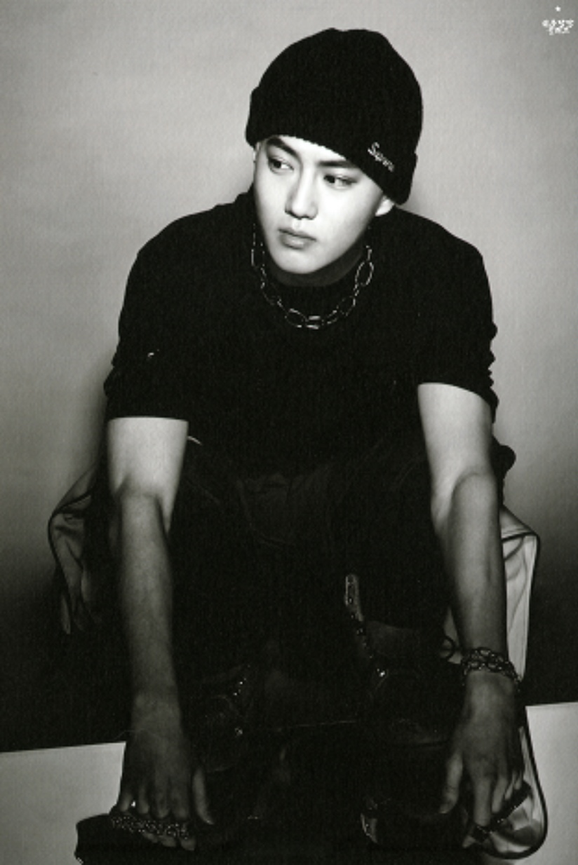 [140712] Suho (EXO) New Overdose Postcard (Scan) by OliV_xoxo [1]