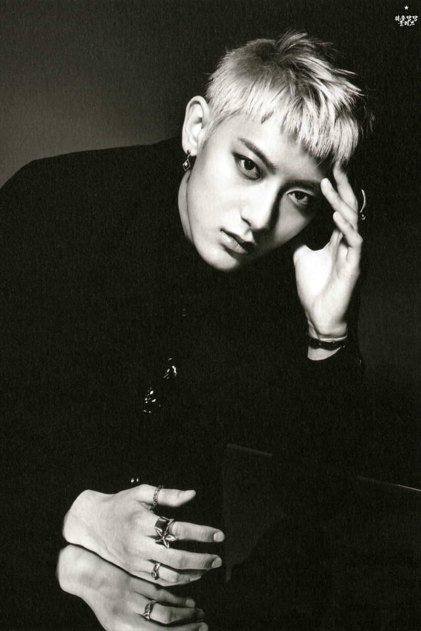 [140712] Tao (EXO) New Overdose Postcard (Scan) by OliV_xoxo [1]
