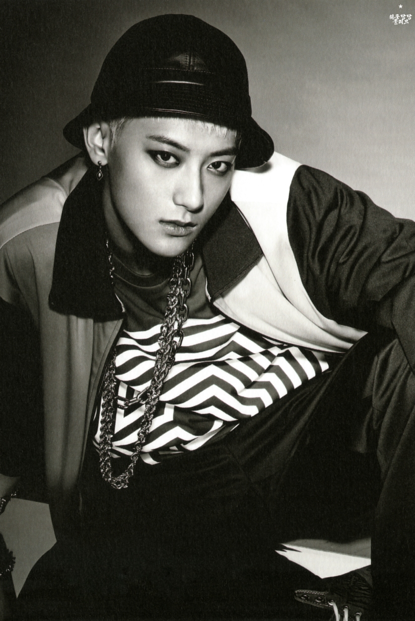 [140712] Tao (EXO) New Overdose Postcard (Scan) by OliV_xoxo [2]