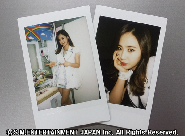 [140712] Yuri (SNSD) New Polaroid Picture via SONE PLUS