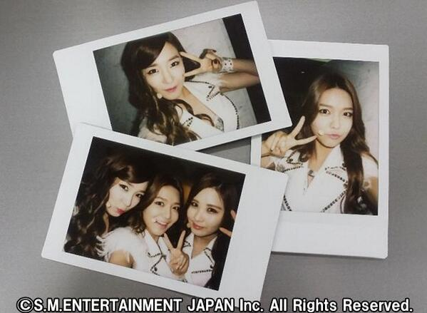 [140713] Tiffany, Sooyoung & Seohyun (SNSD) New Polaroid Picture via SONE PLUS