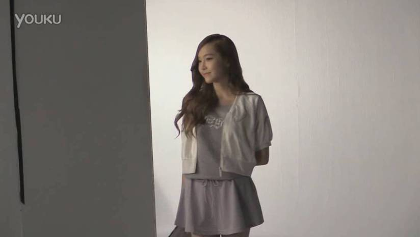 [140716] Jessica (SNSD) New Picture for Li-Ning CF BTS Video [1]