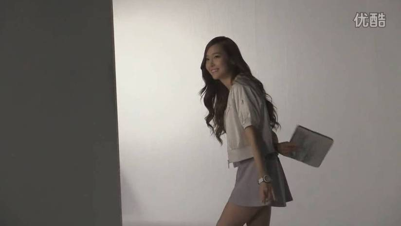 [140716] Jessica (SNSD) New Picture for Li-Ning CF BTS Video [2]