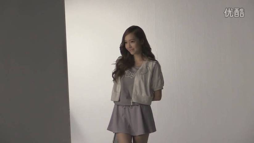 [140716] Jessica (SNSD) New Picture for Li-Ning CF BTS Video [5]