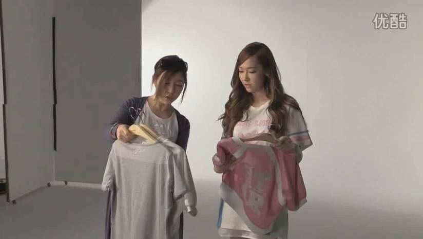 [140717] Jessica (SNSD) New Capture Video for Li-Ning CF BTS Video [1]