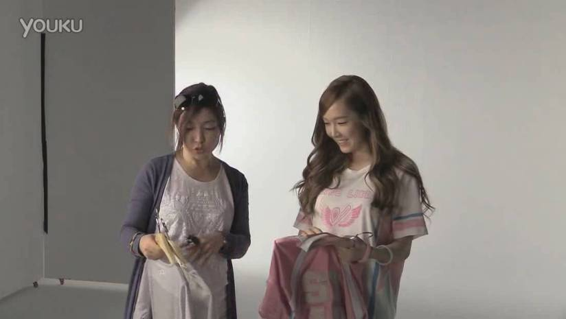 [140717] Jessica (SNSD) New Capture Video for Li-Ning CF BTS Video [2]