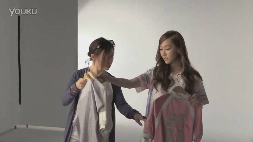 [140717] Jessica (SNSD) New Capture Video for Li-Ning CF BTS Video [3]