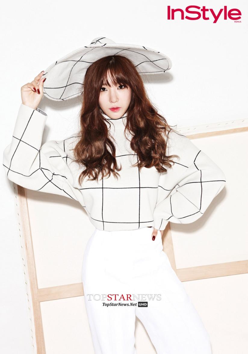 [140717] Tiffany (SNSD) @ InStyle Magazine Issue Agustust 2014 via TopStarNews [2]