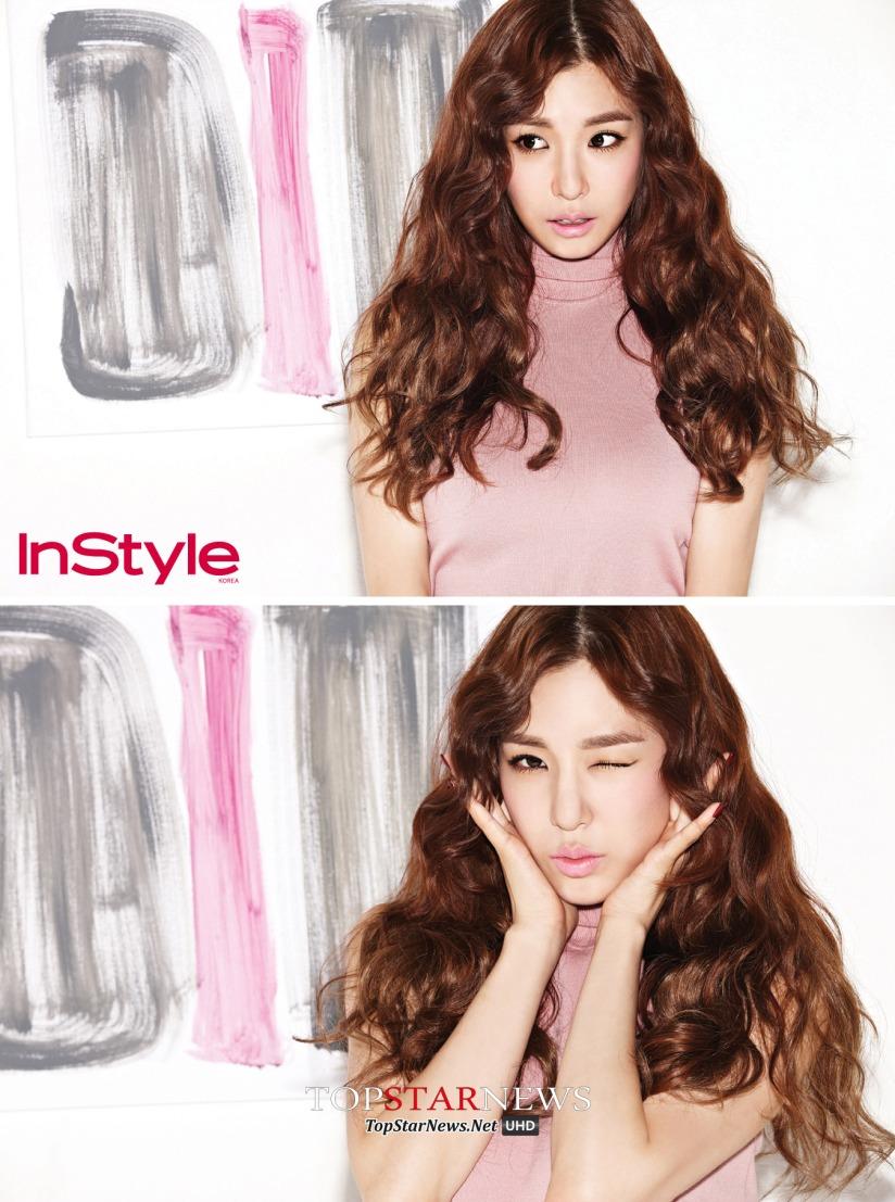 [140717] Tiffany (SNSD) @ InStyle Magazine Issue Agustust 2014 via TopStarNews [3]