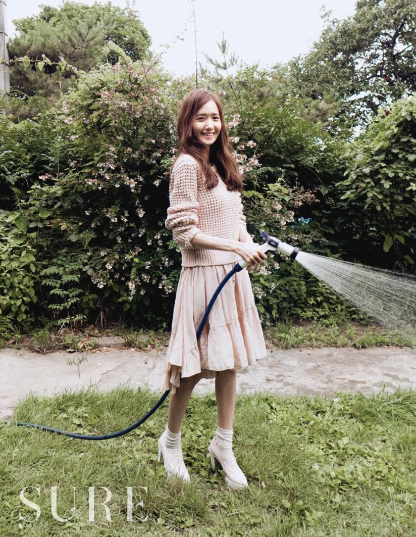 [140717] Yoona (SNSD) @ SURE Magazine Issue Agustust 2014 via koreatrade1147's Twitter [1]