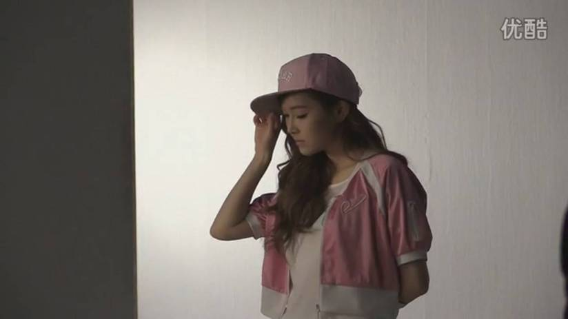 [140718] Jessica (SNSD) New Capture Video for Li-Ning CF BTS Video [1]