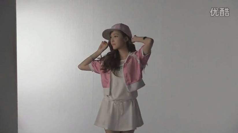 [140718] Jessica (SNSD) New Capture Video for Li-Ning CF BTS Video [6]