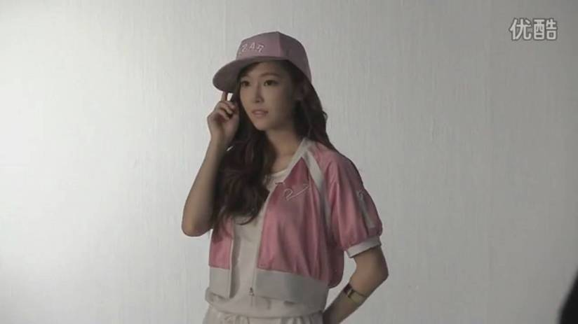 [140718] Jessica (SNSD) New Capture Video for Li-Ning CF BTS Video [8]