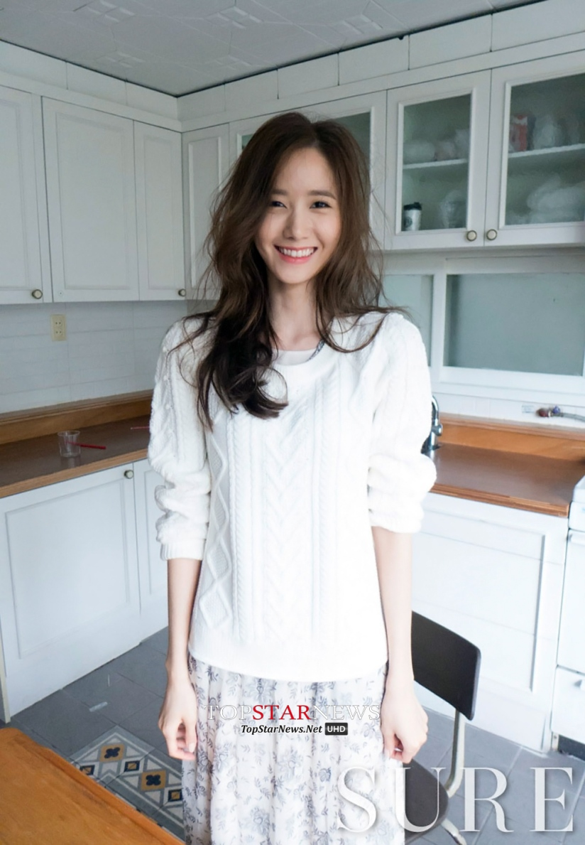 [140718] Yoona (SNSD) @ SURE Magazine Issue Agustust 2014 via TopStarNews [3]