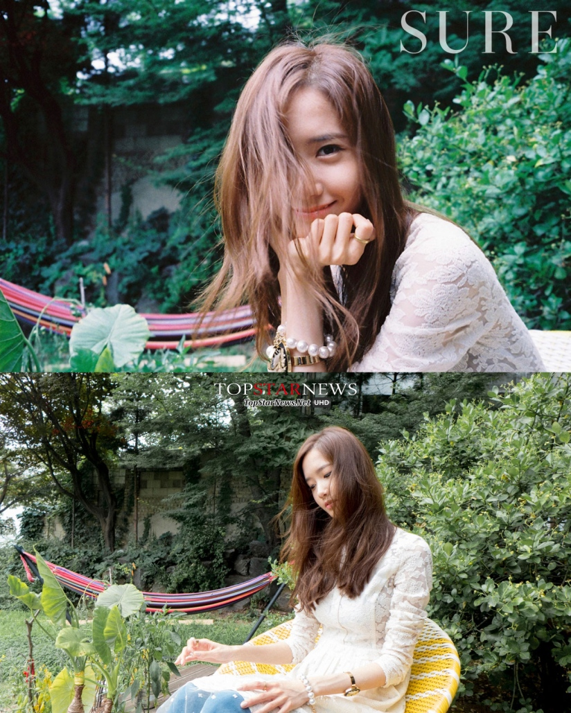[140718] Yoona (SNSD) @ SURE Magazine Issue Agustust 2014 via TopStarNews [4]