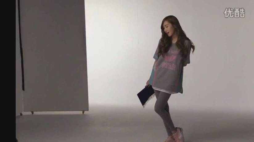[140719] Jessica (SNSD) New Capture Video for Li-Ning CF BTS Video [2]