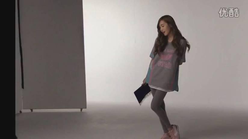 [140719] Jessica (SNSD) New Capture Video for Li-Ning CF BTS Video [2]