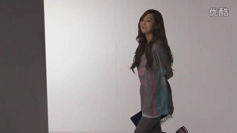 [140719] Jessica (SNSD) New Capture Video for Li-Ning CF BTS Video [3]