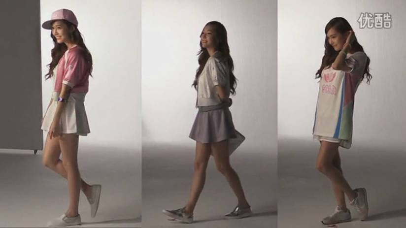 [140719] Jessica (SNSD) New Capture Video for Li-Ning CF BTS Video [4]