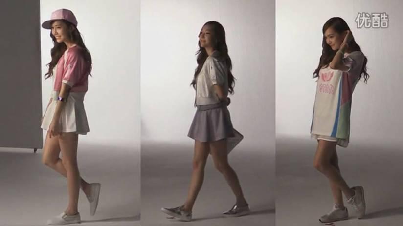 [140719] Jessica (SNSD) New Capture Video for Li-Ning CF BTS Video [4]