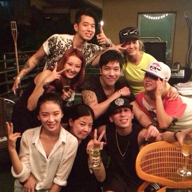 [140720] Hyoyeon (SNSD) New Selca via kongkaroon's Instagram