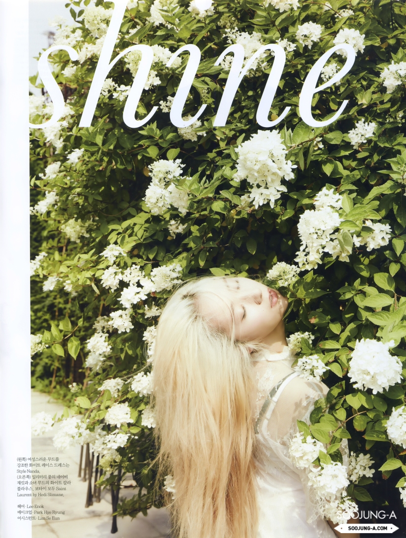 [140720] Krystal (F(x)) @ ELLE Magazine Issue August 2014 (Scan) by Soojung-A [1]
