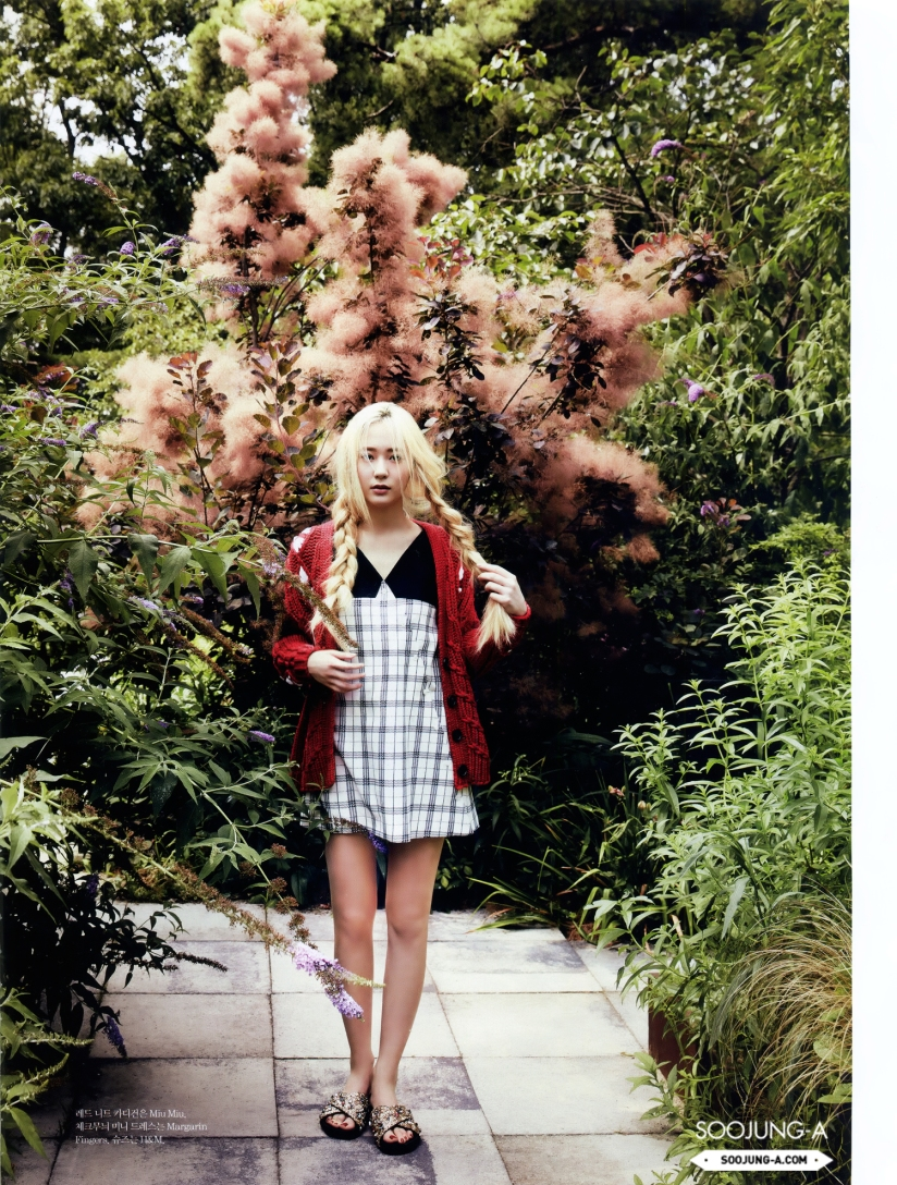 [140720] Krystal (F(x)) @ ELLE Magazine Issue August 2014 (Scan) by Soojung-A [8]