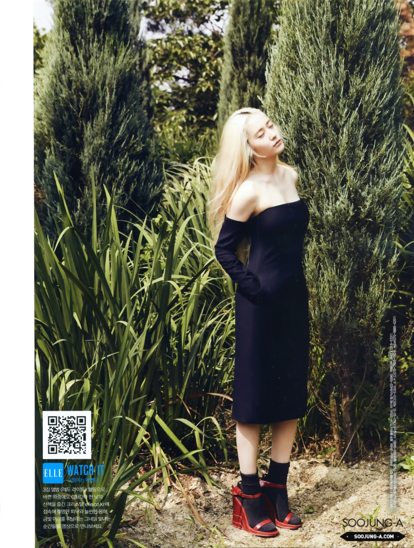 [140720] Krystal (F(x)) @ ELLE Magazine Issue August 2014 (Scan) by Soojung-A [9]