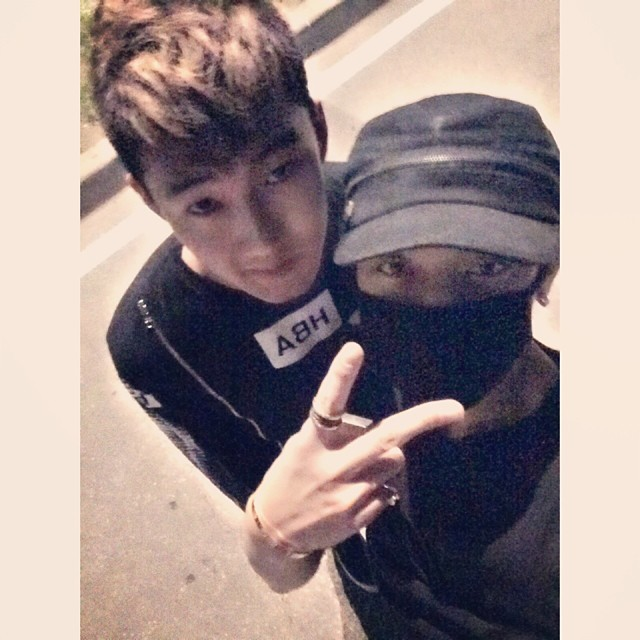 [140720] Tao (EXO) New Selca via justinhbw's instagram