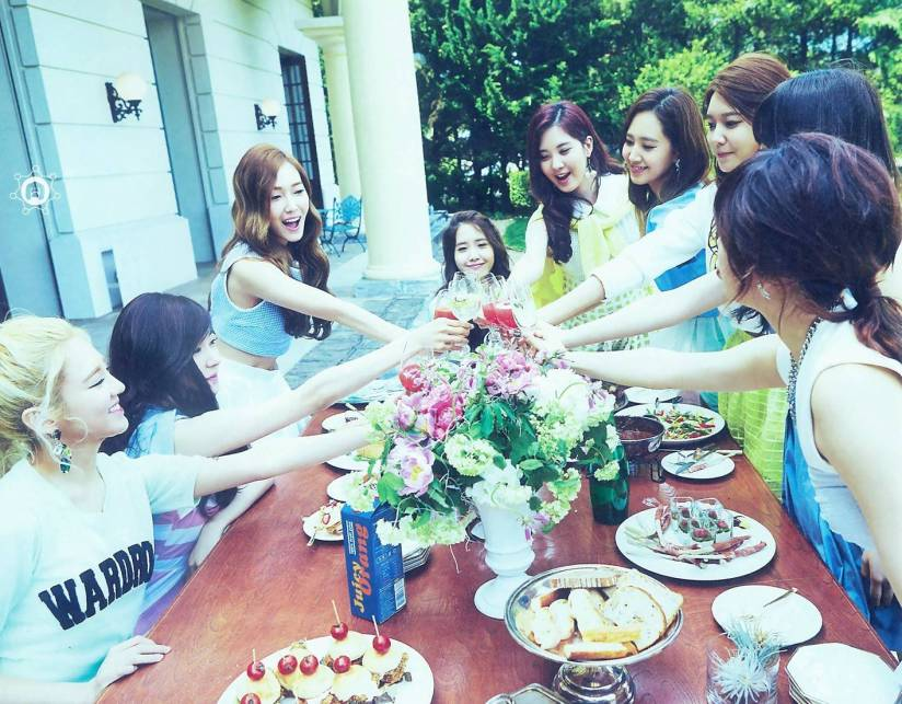 [140722] Girls' Generation (SNSD) New Picture for The BEST (Scan) by 终极颜控 [6]