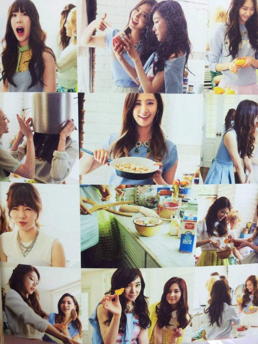[140722] Girls' Generation (SNSD) New Picture for The BEST (Scan) by Gray_YuRism [1]