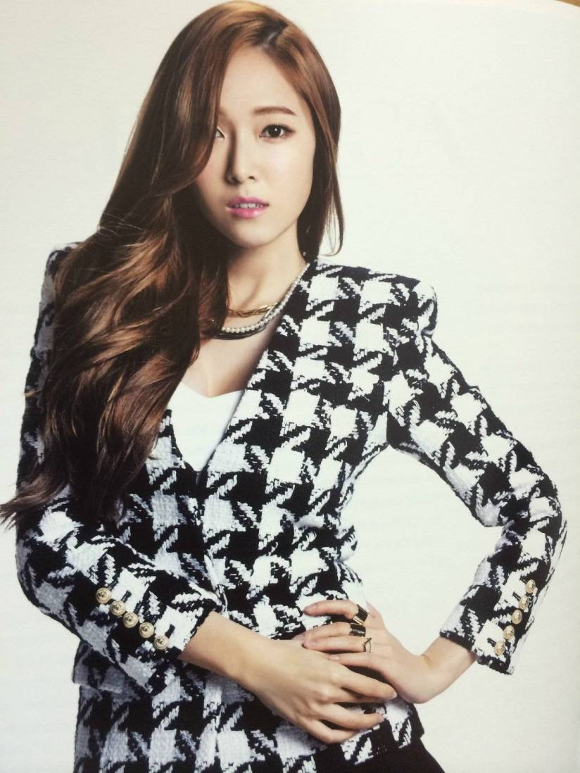 [140722] Jessica (SNSD) New Picture for The BEST (Scan) by Gray_YuRism [1]