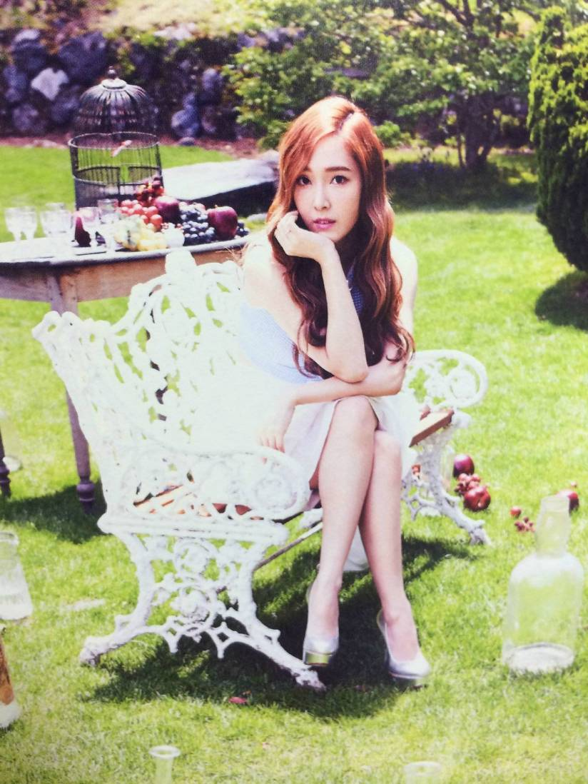 [140722] Jessica (SNSD) New Picture for The BEST (Scan) by Gray_YuRism [4]