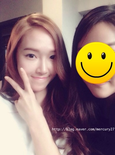 [140722] Jessica (SNSD) New Selca via mercury27's Naver Blog