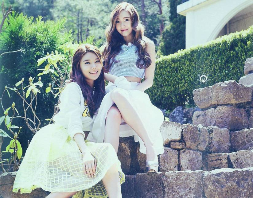 [140722] Jessica & Sooyoung (SNSD) New Picture for The BEST (Scan) by 终极颜控