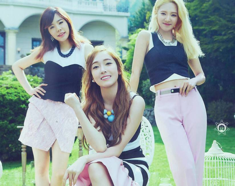 [140722] Jessica, Sunny & Hyoyeon (SNSD) New Picture for The BEST (Scan) by 终极颜控
